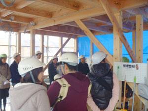 本物の木の家 構造見学会